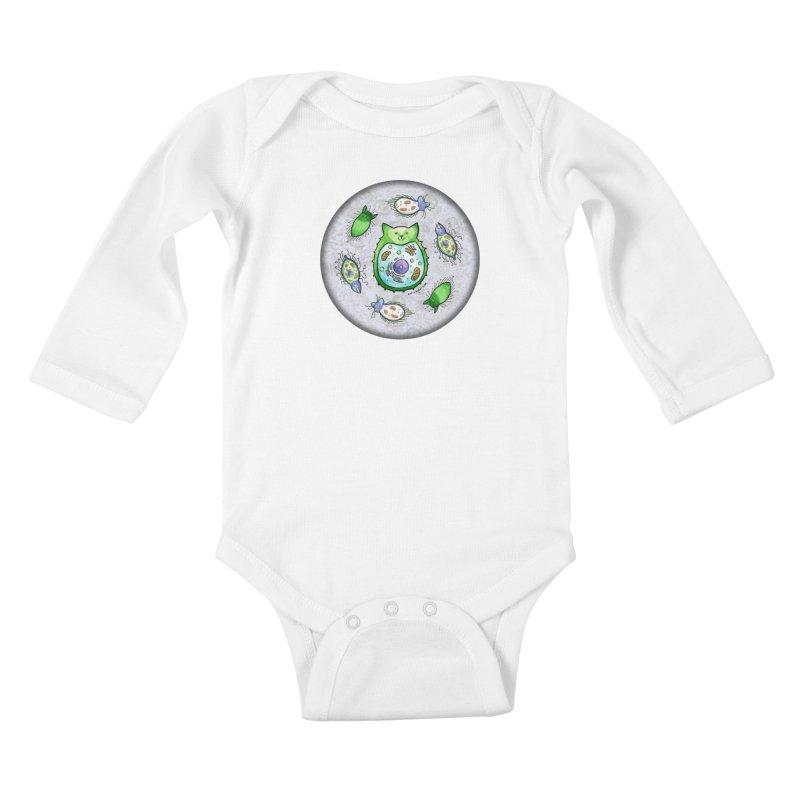 Toxoplasmoids Kids Baby Longsleeve Bodysuit by Feeping Creatures Artist Shop