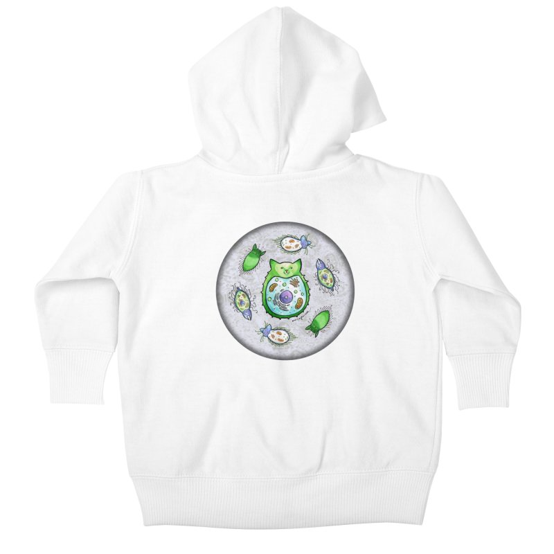 Toxoplasmoids Kids Baby Zip-Up Hoody by Feeping Creatures Artist Shop