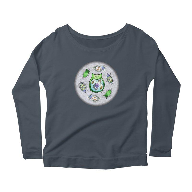 Toxoplasmoids Women's Scoop Neck Longsleeve T-Shirt by Feeping Creatures Artist Shop