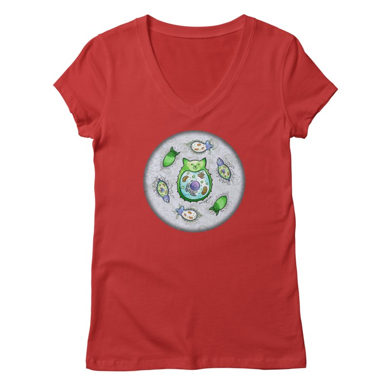 Toxoplasmoids Women's V-Neck by Feeping Creatures Artist Shop