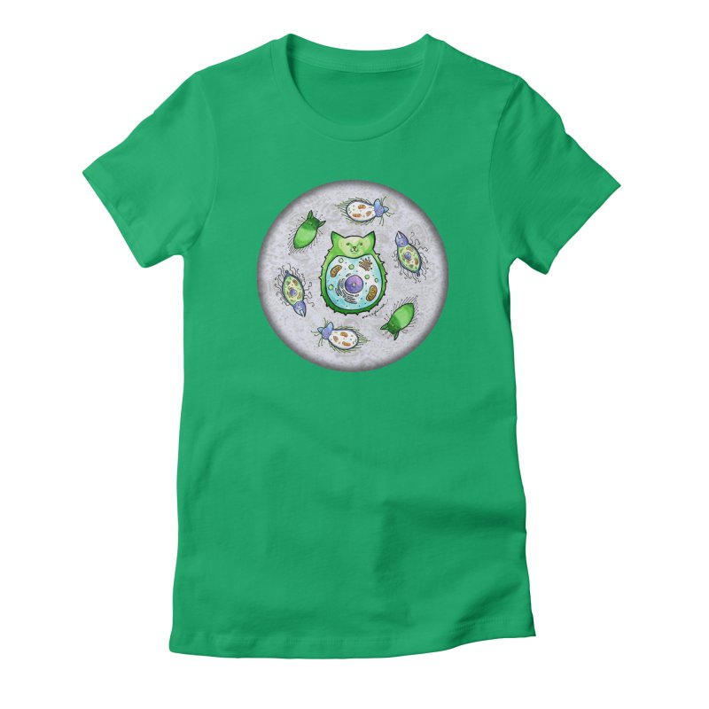 Toxoplasmoids Women's Fitted T-Shirt by Feeping Creatures Artist Shop