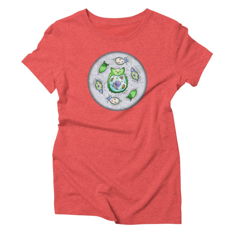Toxoplasmoids Women's Triblend T-shirt by Feeping Creatures Artist Shop