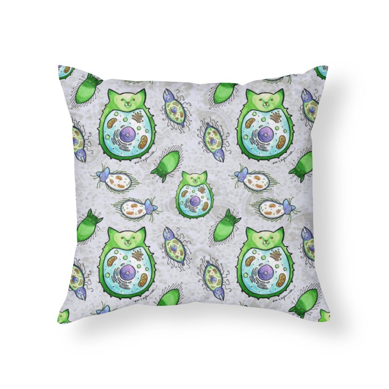 Toxoplasmoids Home Throw Pillow by Feeping Creatures Artist Shop