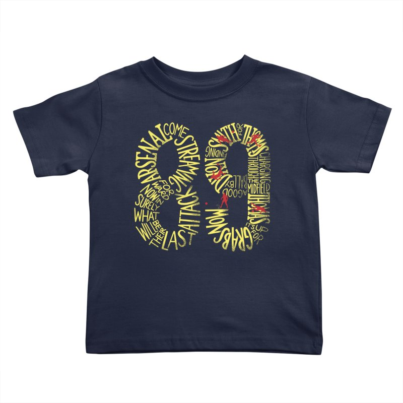 Anfield 89 Kids Toddler T-Shirt by Fees Tees