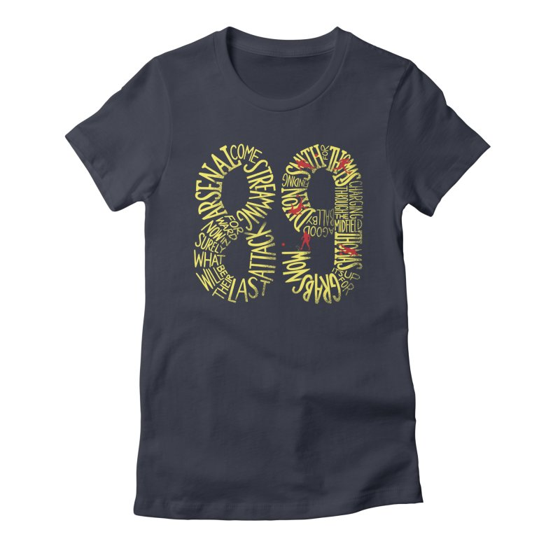 Anfield 89 Women's Fitted T-Shirt by Fees Tees