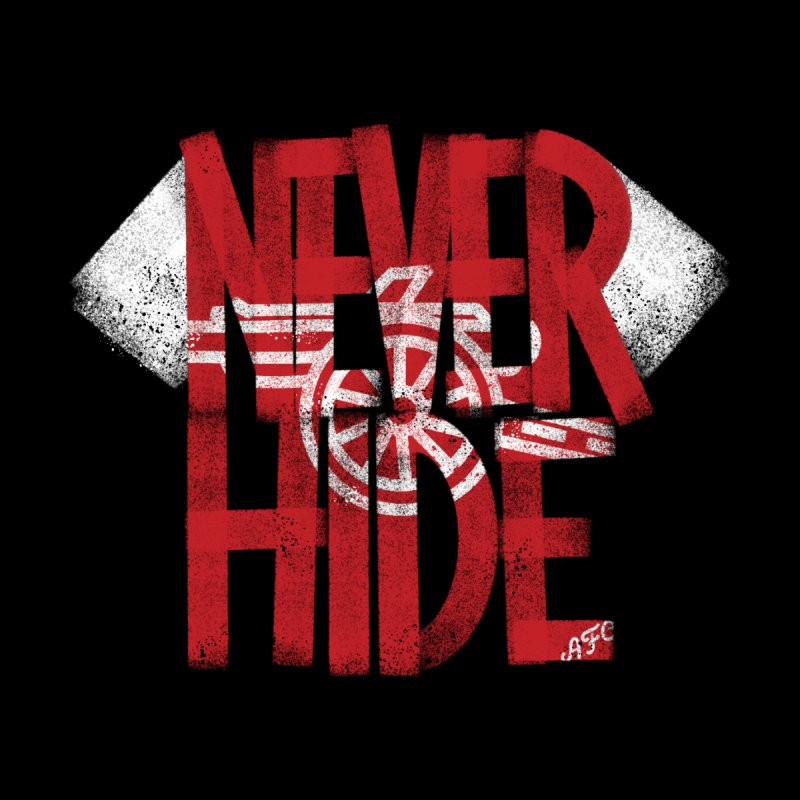 Never Hide AFC by Fees Tees