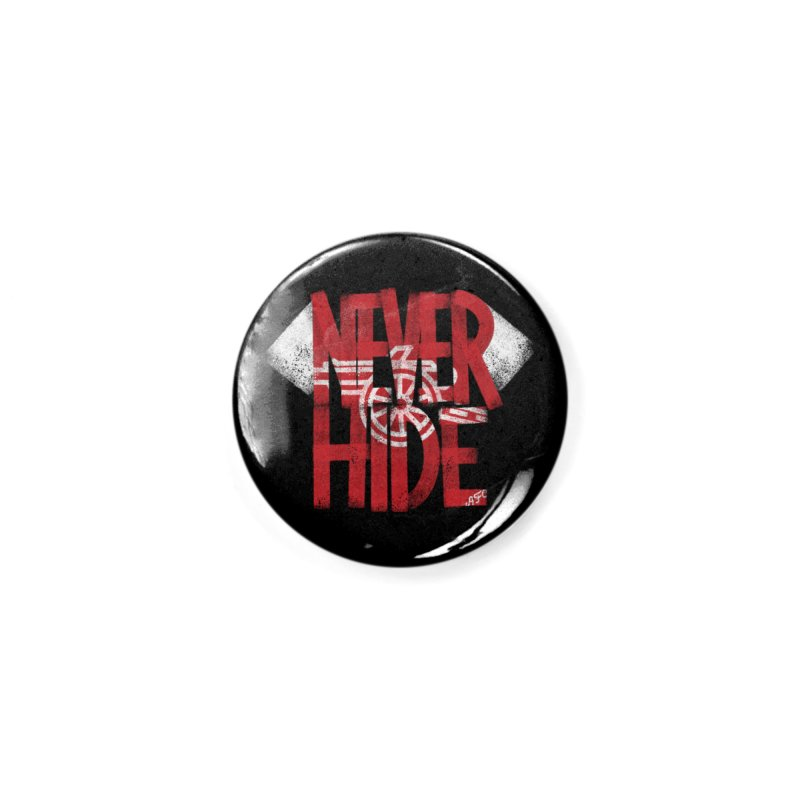 Never Hide AFC Accessories Button by Fees Tees