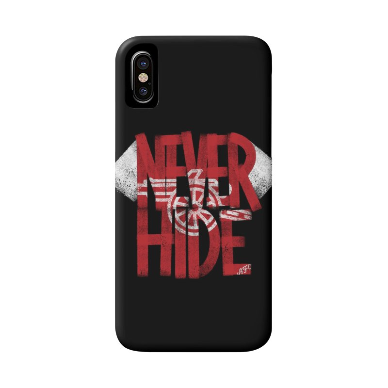 Never Hide AFC Accessories Phone Case by Fees Tees