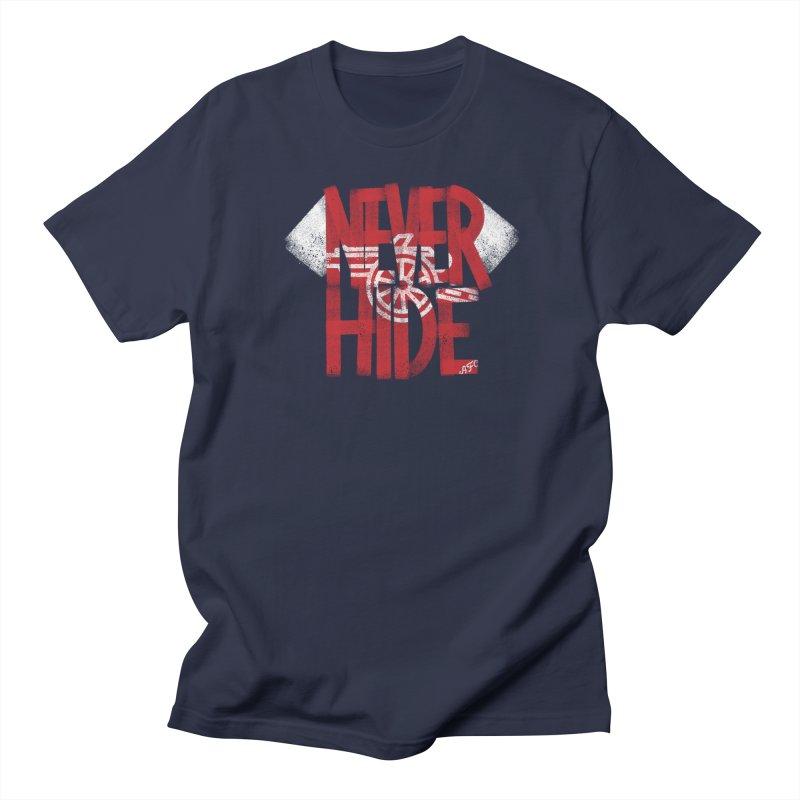 Never Hide AFC Men's Regular T-Shirt by Fees Tees