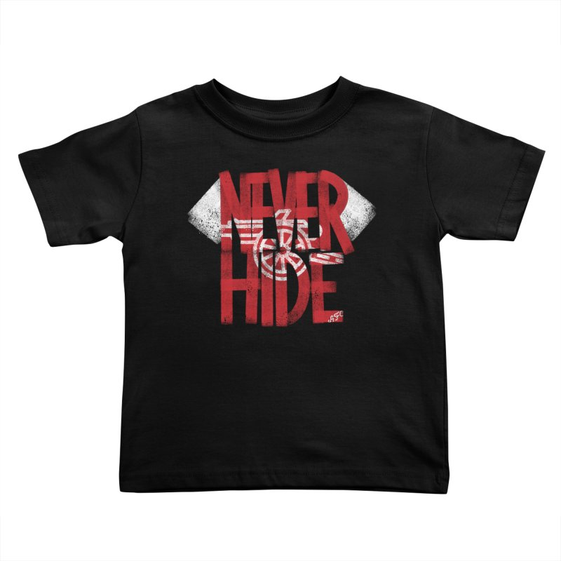 Never Hide AFC Kids Toddler T-Shirt by Fees Tees