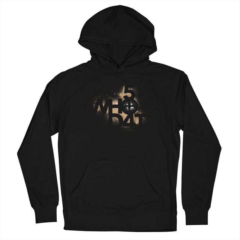 504DAT Men's French Terry Pullover Hoody by Fees Tees