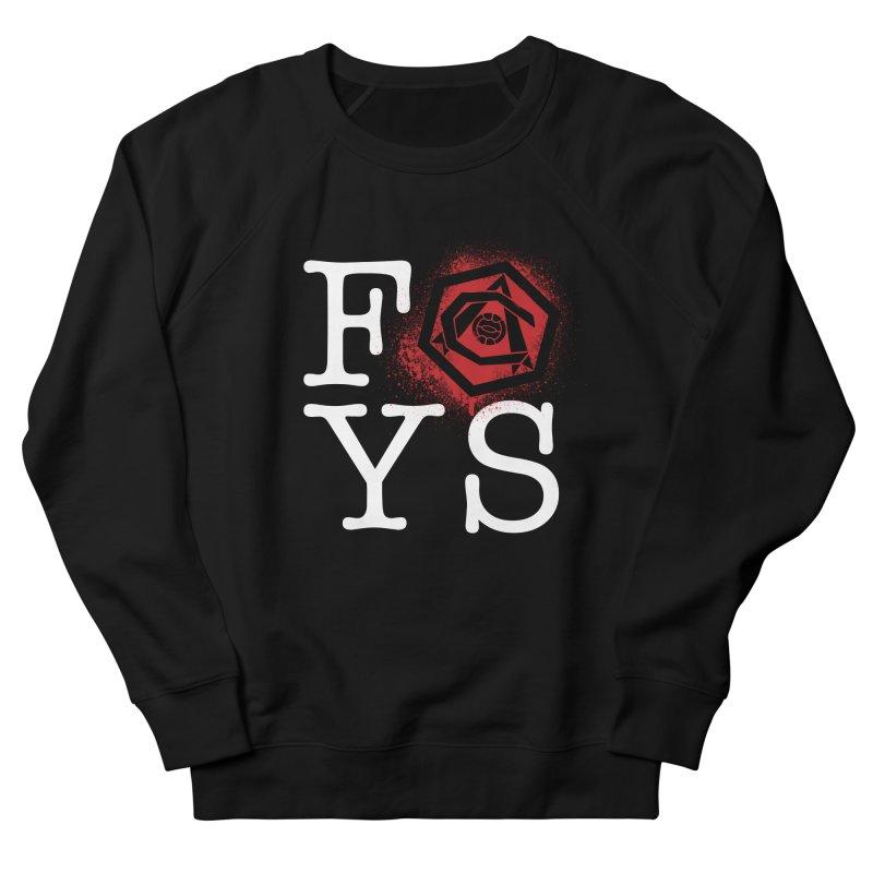 FOYS (BLACK) Men's French Terry Sweatshirt by Fees Tees