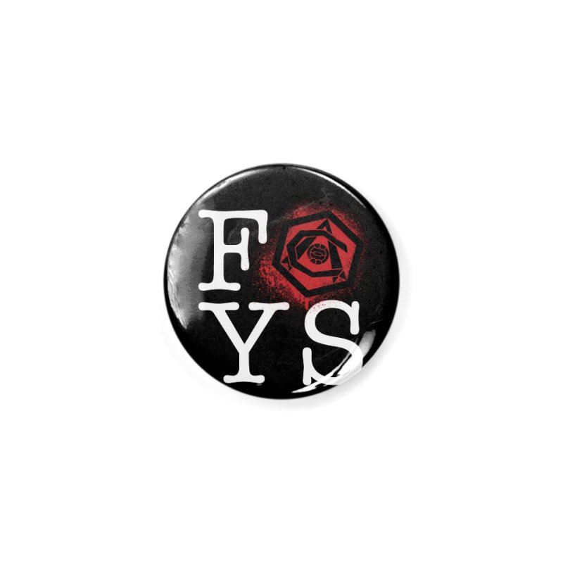 FOYS (BLACK) Accessories Button by Fees Tees