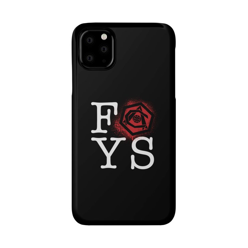 FOYS (BLACK) Accessories Phone Case by Fees Tees