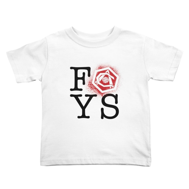 FOYS (WHITE) Kids Toddler T-Shirt by Fees Tees