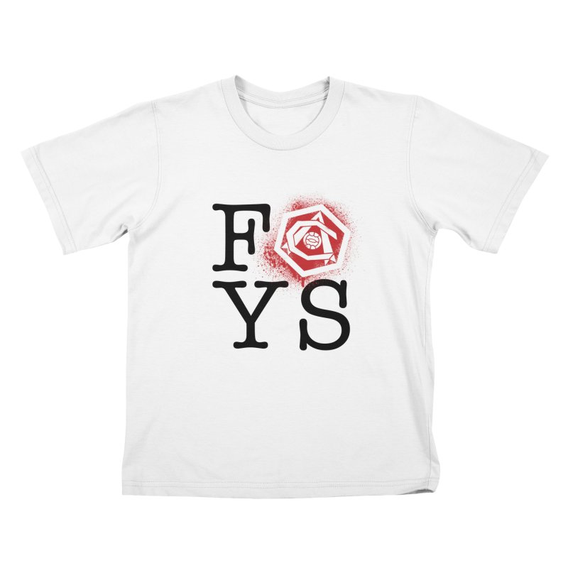 FOYS (WHITE) Kids T-Shirt by Fees Tees