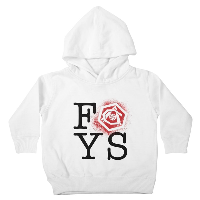 FOYS (WHITE) Kids Toddler Pullover Hoody by Fees Tees