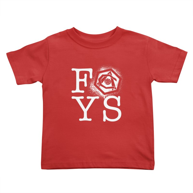 FOYS (RED) Kids Toddler T-Shirt by Fees Tees