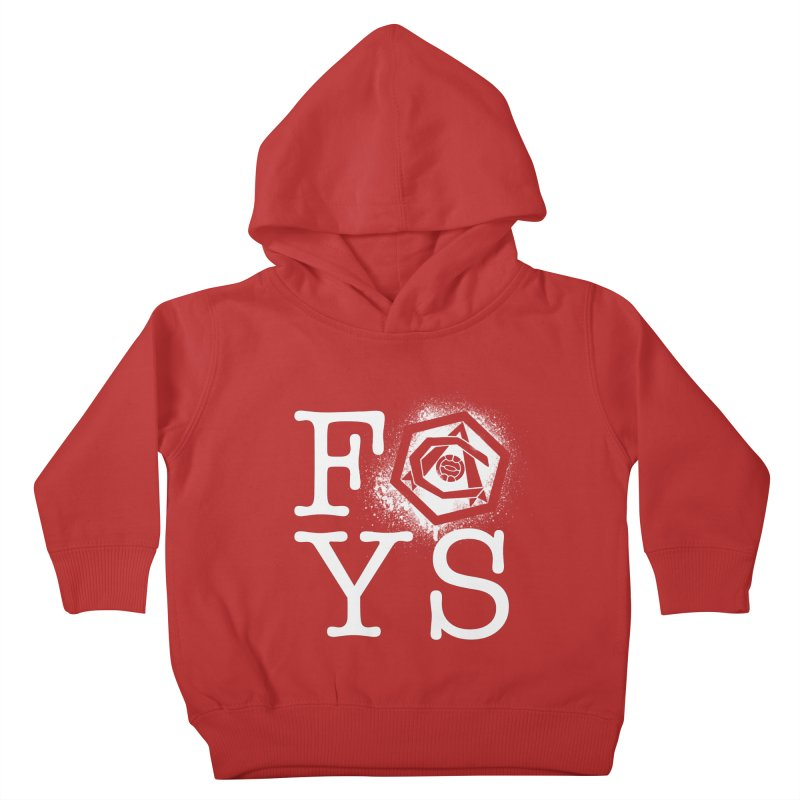 FOYS (RED) Kids Toddler Pullover Hoody by Fees Tees