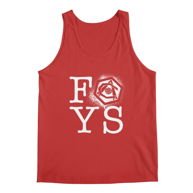 FOYS (RED) Men's Regular Tank by Fees Tees