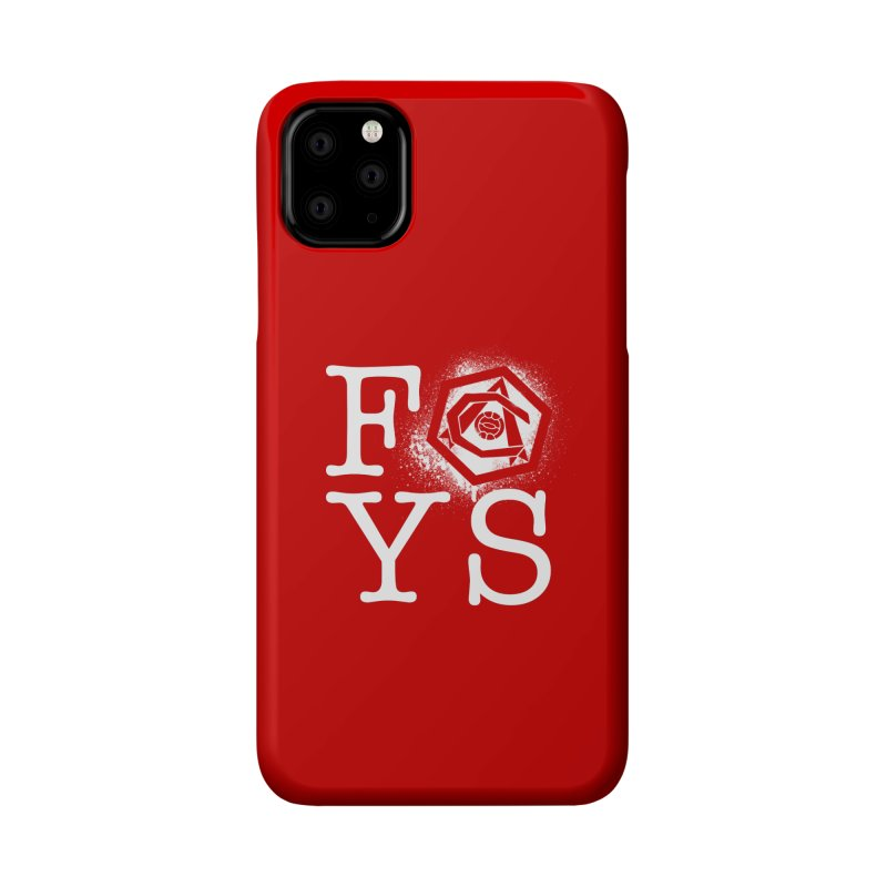 FOYS (RED) Accessories Phone Case by Fees Tees
