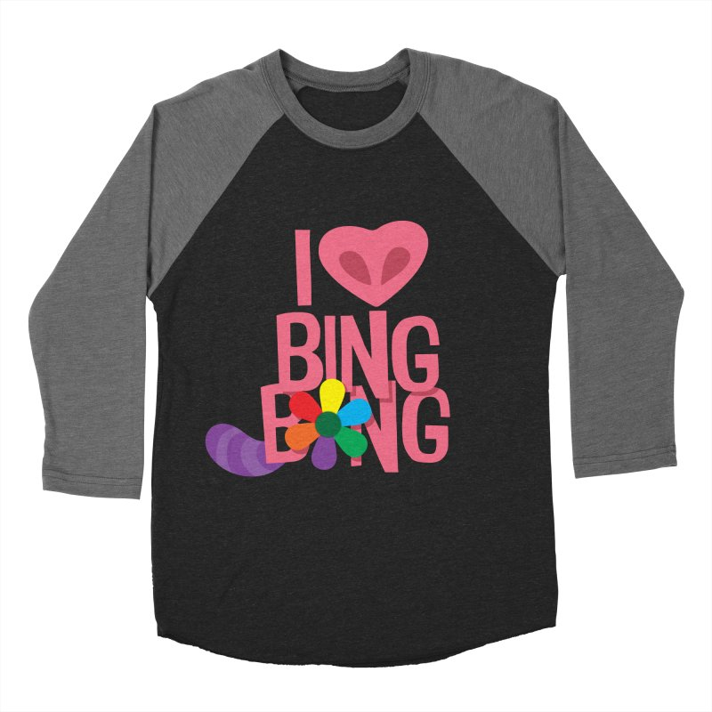 I Love BING-BONG! Men's Baseball Triblend Longsleeve T-Shirt by Fees Tees