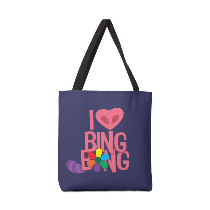 I Love BING-BONG! Accessories Tote Bag Bag by Fees Tees
