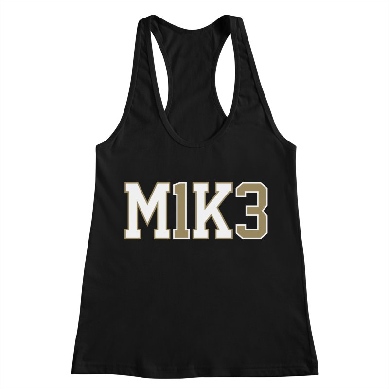 M1K3 Women's Racerback Tank by Fees Tees