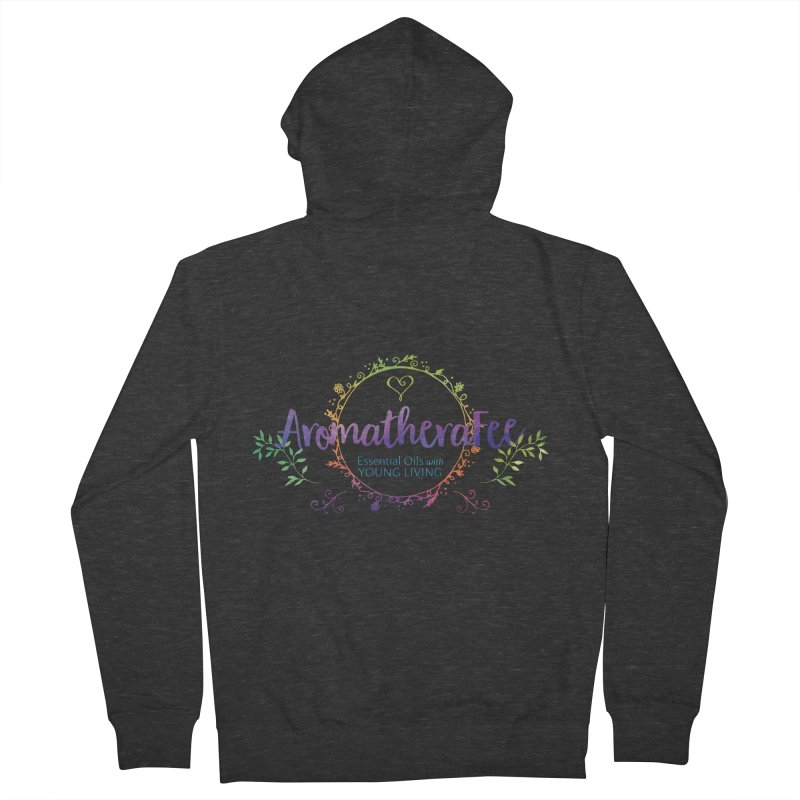 The Aromatherafee Collection Women's French Terry Zip-Up Hoody by Fees Tees