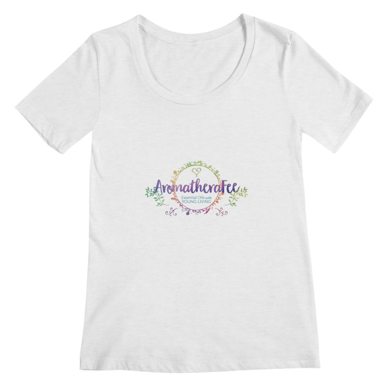 The Aromatherafee Collection Women's Regular Scoop Neck by Fees Tees