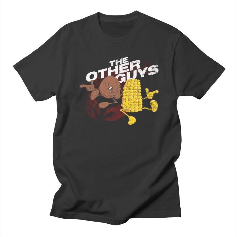 The Other Guys - Crawfish Season in Men's Regular T-Shirt Smoke by Fees Tees