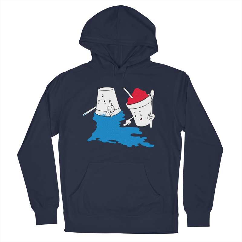Dropped the Snoball Women's French Terry Pullover Hoody by Fees Tees
