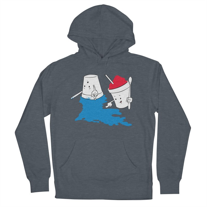 Dropped the Snoball Men's French Terry Pullover Hoody by Fees Tees