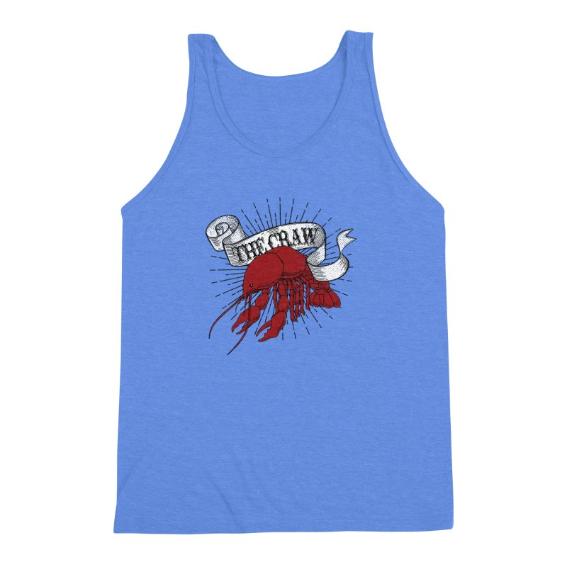 The CRAW! Men's Triblend Tank by Fees Tees