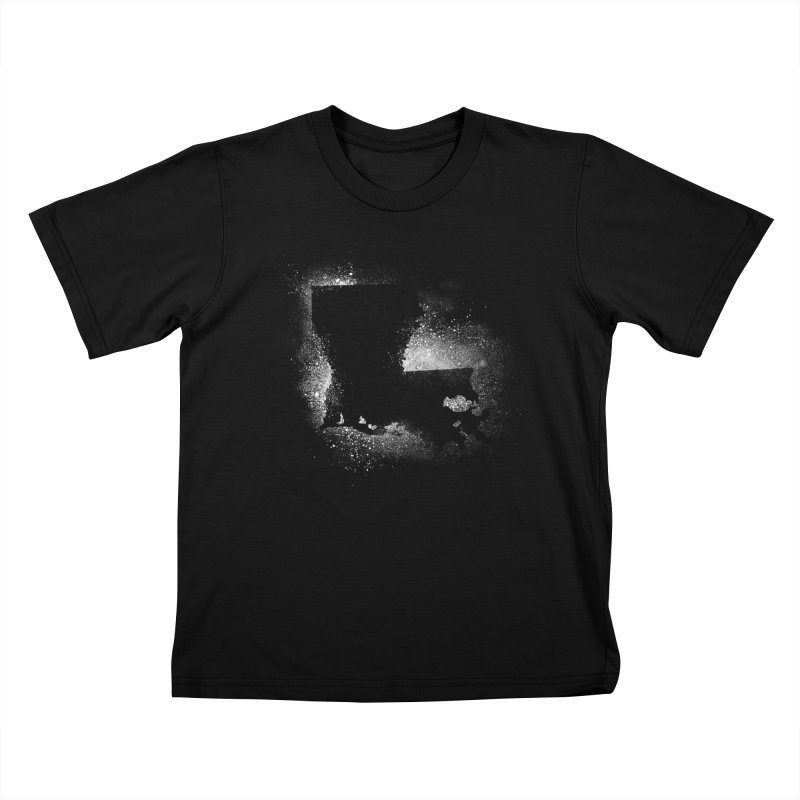 The Pre-Sugared Shirt! in Kids T-Shirt Black by Fees Tees