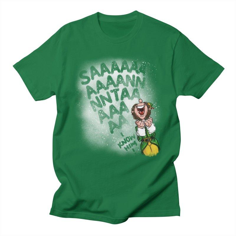Santa... I Know Him! Women's Regular Unisex T-Shirt by Fees Tees