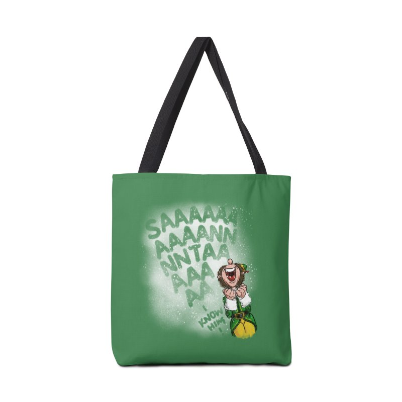 Santa... I Know Him! Accessories Tote Bag Bag by Fees Tees