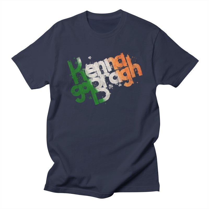 Kenna go Bragh Men's Regular T-Shirt by Fees Tees