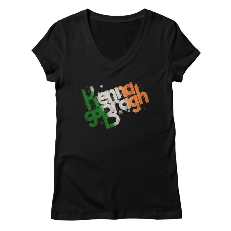 Kenna go Bragh Women's Regular V-Neck by Fees Tees