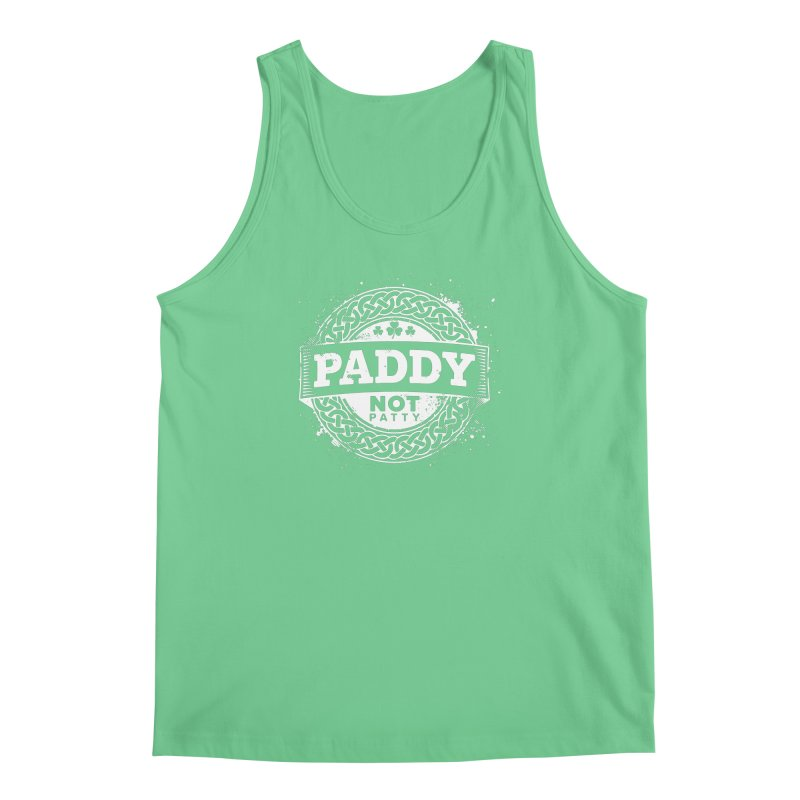 Paddy Not Patty Men's Regular Tank by Fees Tees