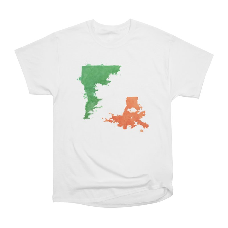Ireland, LA Women's Heavyweight Unisex T-Shirt by Fees Tees
