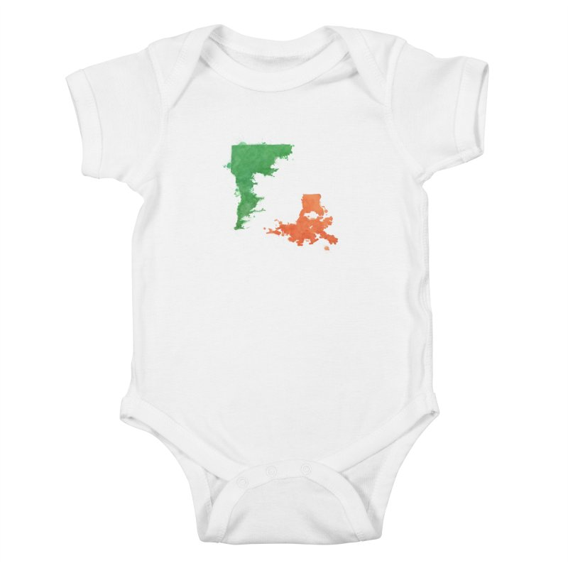 Ireland, LA Kids Baby Bodysuit by Fees Tees