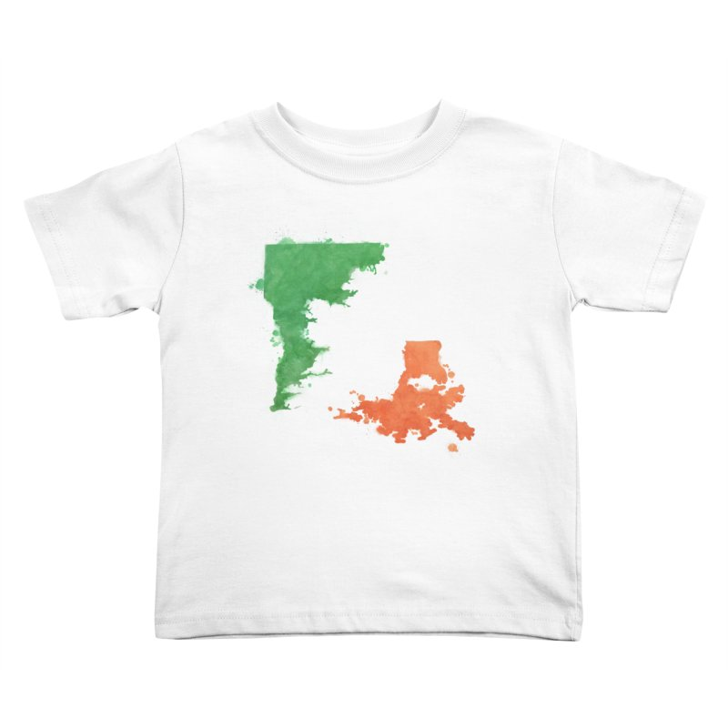 Ireland, LA Kids Toddler T-Shirt by Fees Tees