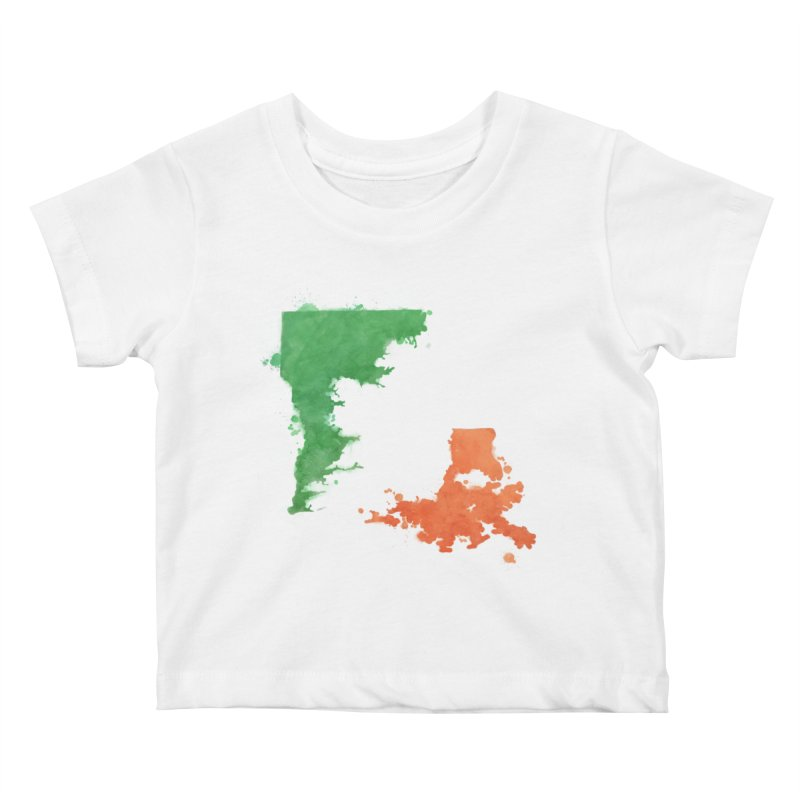 Ireland, LA Kids Baby T-Shirt by Fees Tees