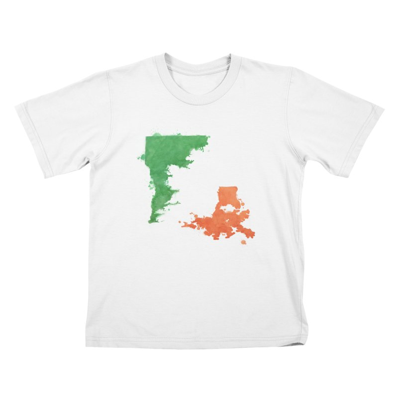 Ireland, LA Kids T-Shirt by Fees Tees