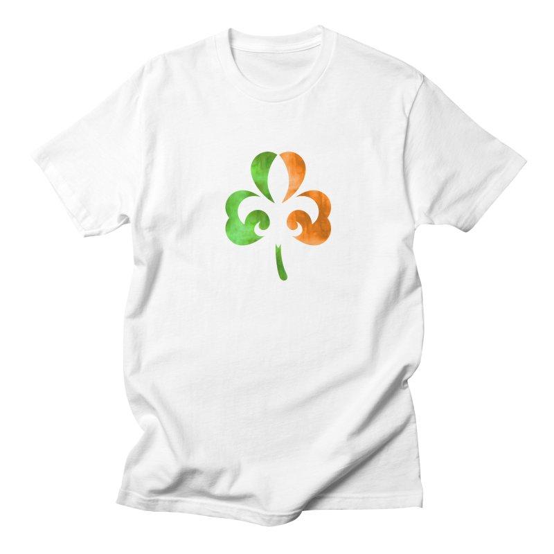 Shamrock De Lis - Color Men's Regular T-Shirt by Fees Tees