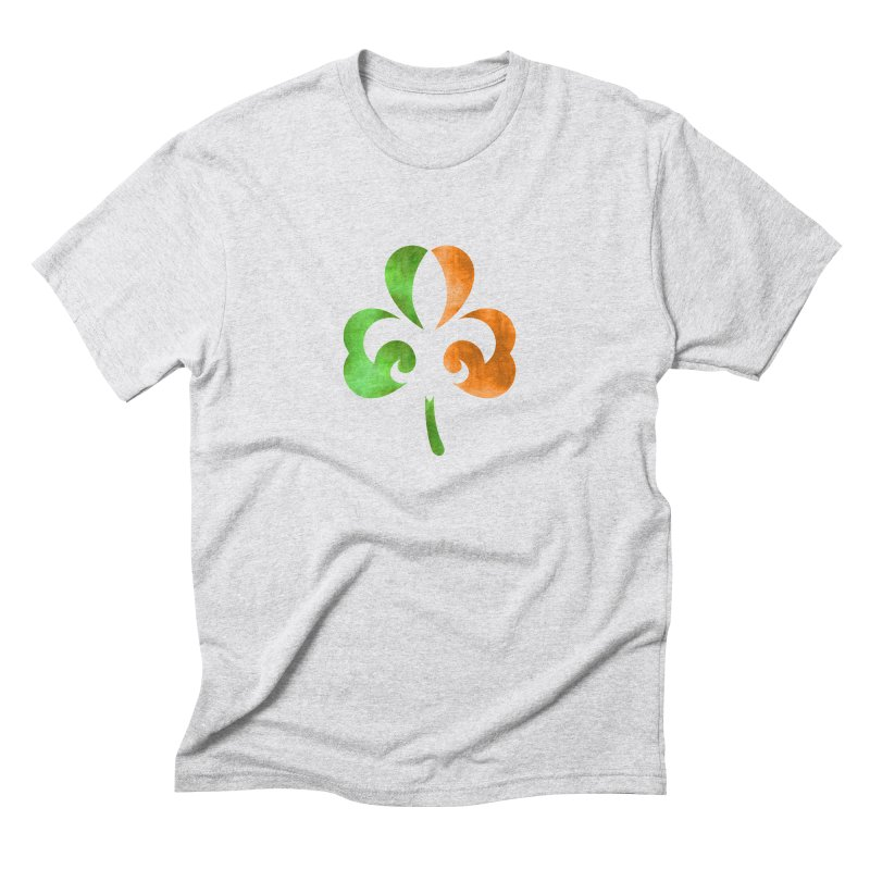 Shamrock De Lis - Color Men's Triblend T-Shirt by Fees Tees