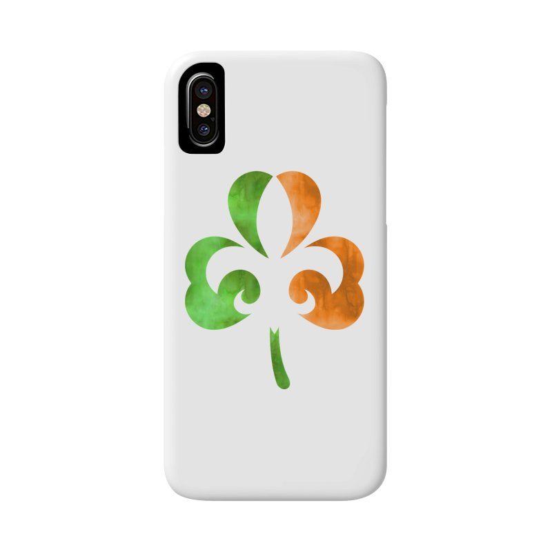 Shamrock De Lis - Color Accessories Phone Case by Fees Tees