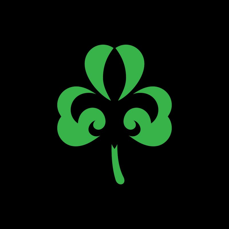 Shamrock De Lis - Green by Fees Tees
