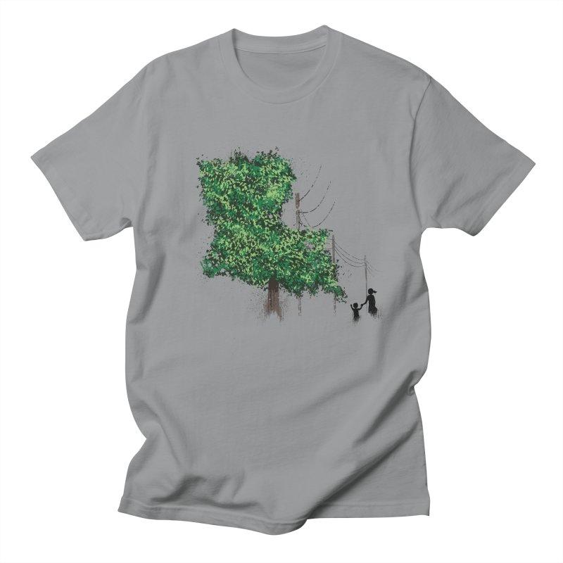 LA Tree Shirt Men's Regular T-Shirt by Fees Tees